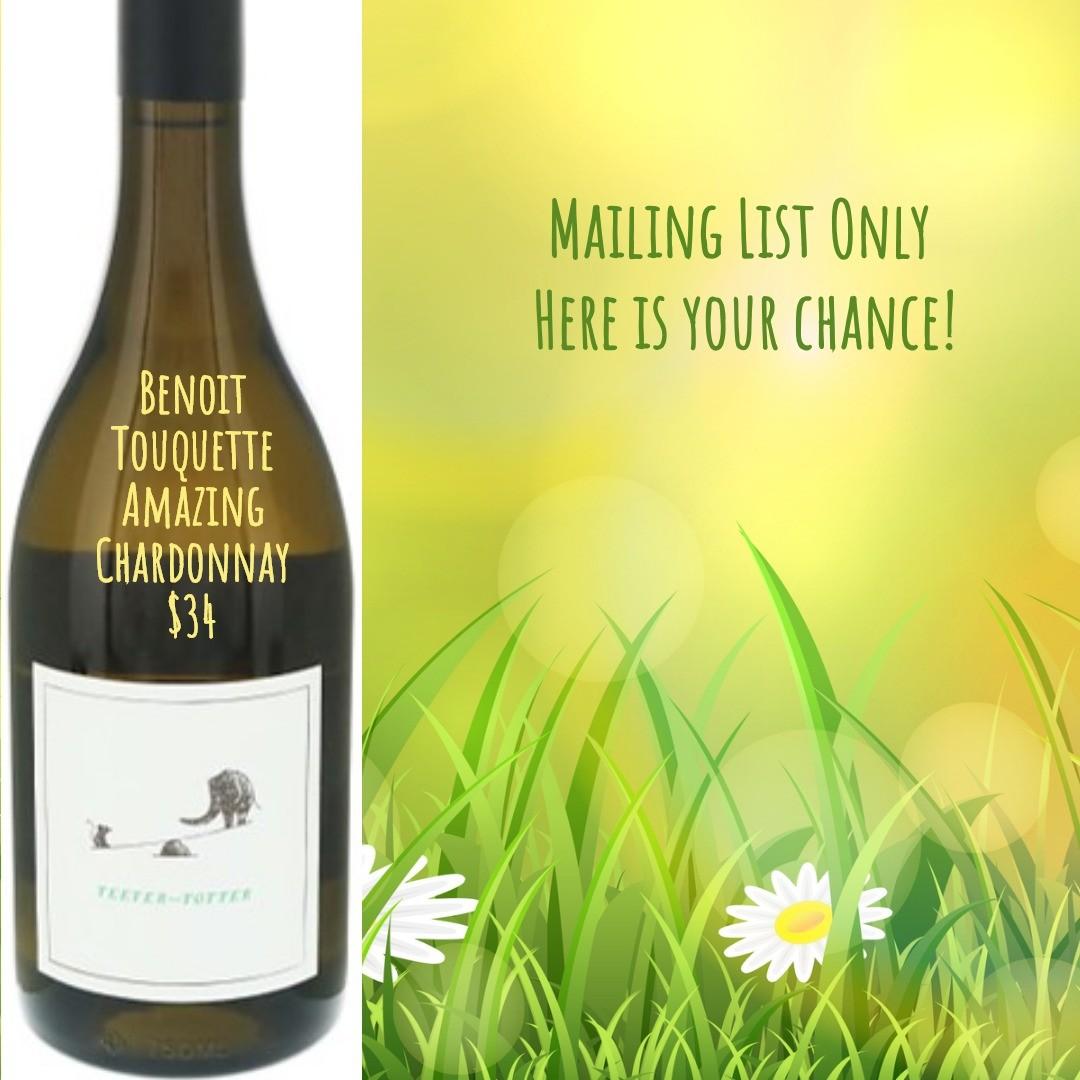 Teeter-Totter Chardonnay 2016