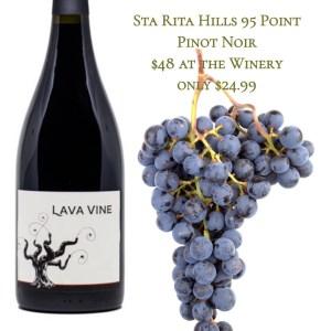 Lava Vine Sta Rita Hills Pinot Noir 2014