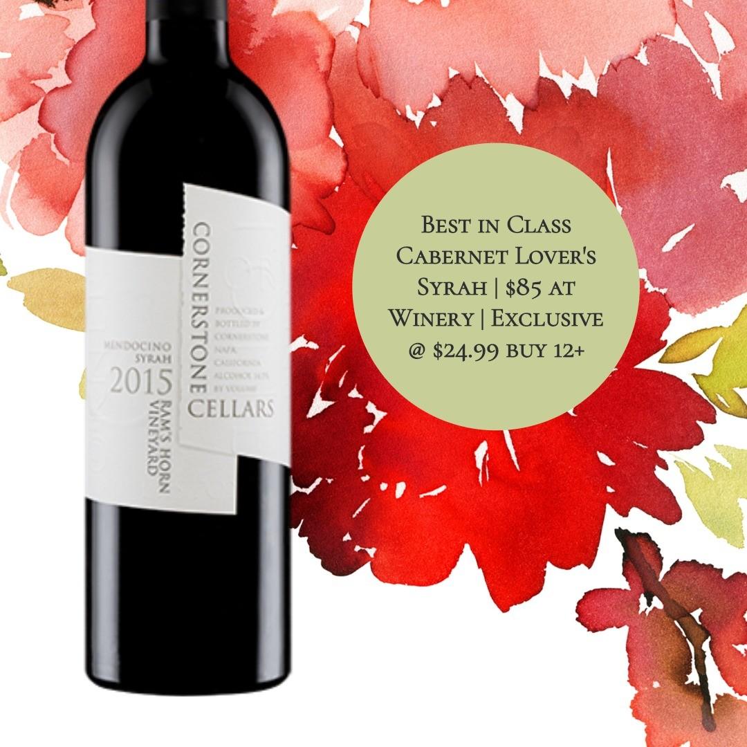Cornerstone Cellars Ram's Horn Vineyard Syrah 2015