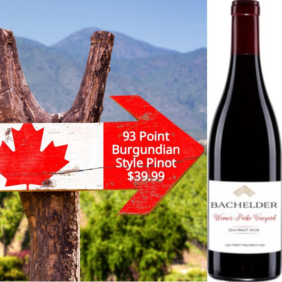 Bachelder Wismer Parke Vineyard Pinot Noir 2014
