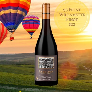 Lemelson Vineyards Thea's Selection Pinot Noir 2015