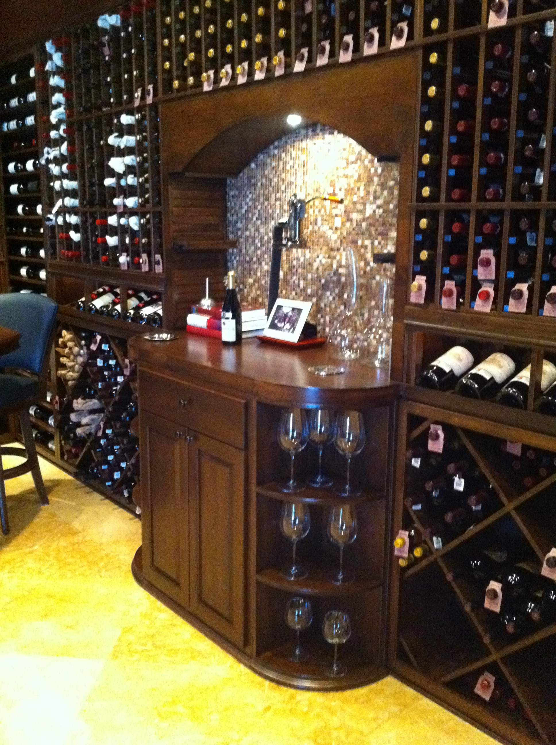 Custom Wine Cellars South Florida  SM Private