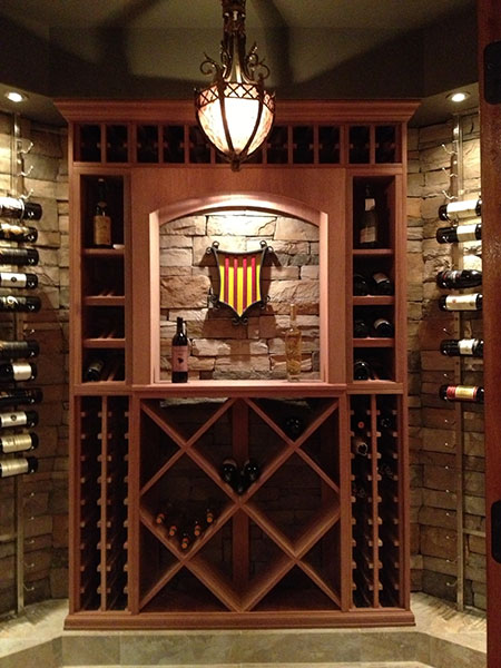 Custom Wine Cellars Made in the USA by WineRackscom