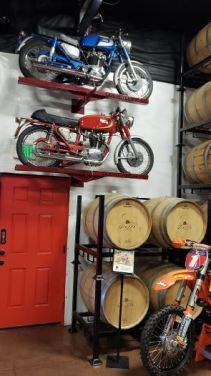 Doffo Winery's Barrel Room