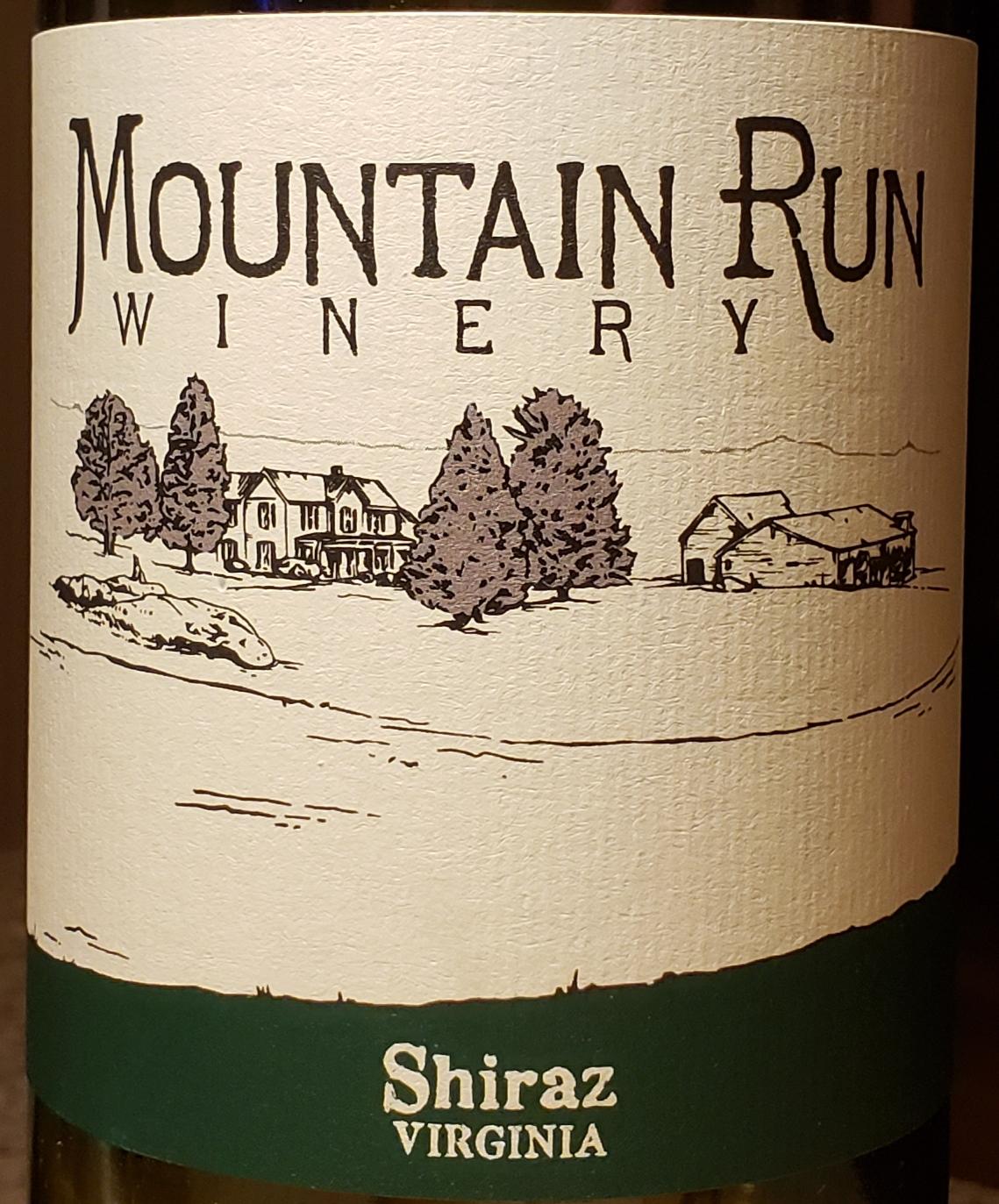 Mountain Run Shiraz