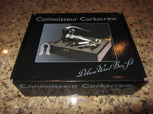Here's the free corkscrew we received from the Wall Street Journal Wine Club