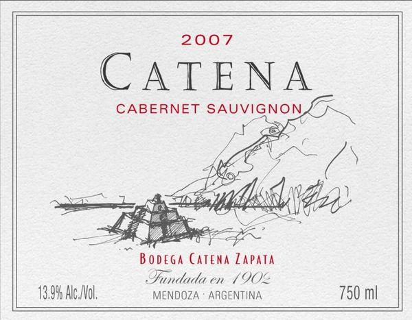 The Wine Commonsewer™: 2007 Catena Cabernet Sauvignon