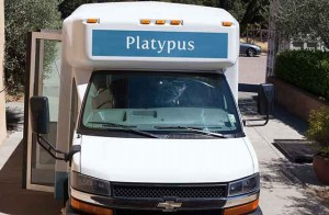 platypus wine bus
