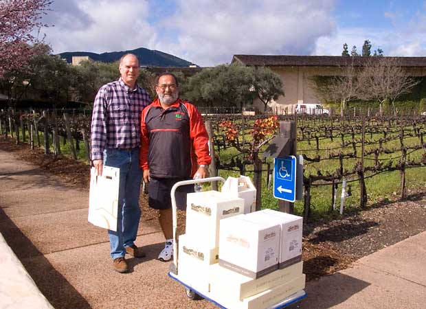 Trading wine at robert mondavi