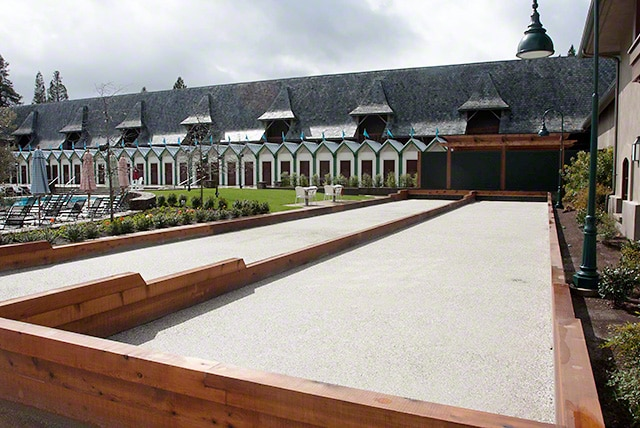 Bocce courts coppola winery