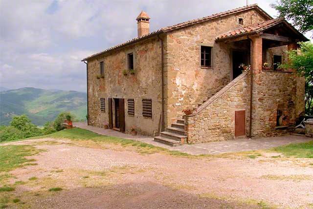 Calboccia farmhouse in Umbria