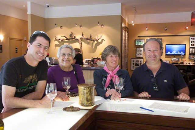 Vermeil wines tasting room
