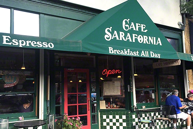 Cafe Sarafornia best breakfas