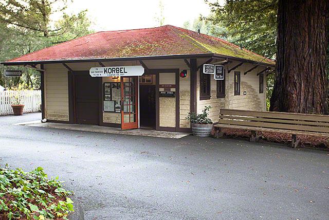 korbel train station