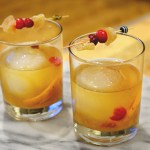 Ginger Cran Old Fashioned