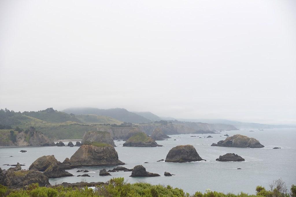 Mendocino Coastal Rocks