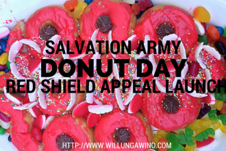 Salvation Army Donut Day Red Shield Appeal Launch 2015 Adelaide