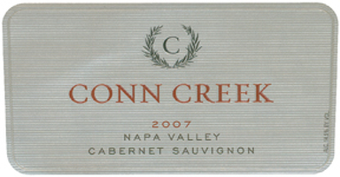 Conn Creek 2007 Cabernet Sauvignon (Napa Valley) Rating