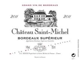 Château Saint-Michel 2011 Bordeaux Supérieur Rating and