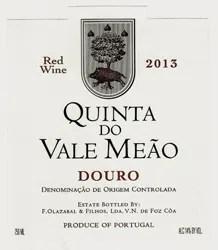 Quinta do Vale Meão 2013 Red (Douro) Rating and Review