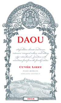 Daou 2016 Cuvée Lizzy Red (Adelaida District) Rating and
