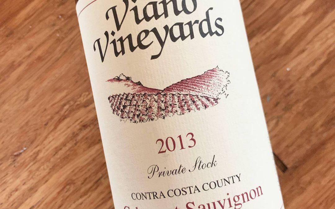 Viano Vineyards Private Stock Cabernet 2013
