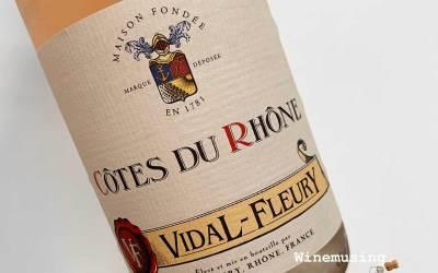 Vidal Fleury Côtes du Rhône Rosé
