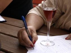 Sparkling wine judging Wine Pleasures