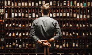 WINE+ selection wine bottles