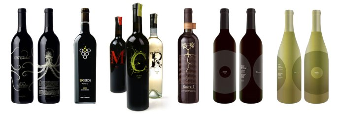 Wine Label Samples – Etched & Engraved