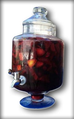 Sangria Container With Spigot