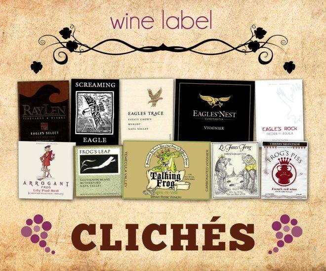 Wine Label Clichés