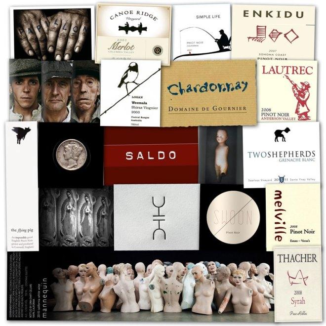 Wine Label Clichés – The Minimalists