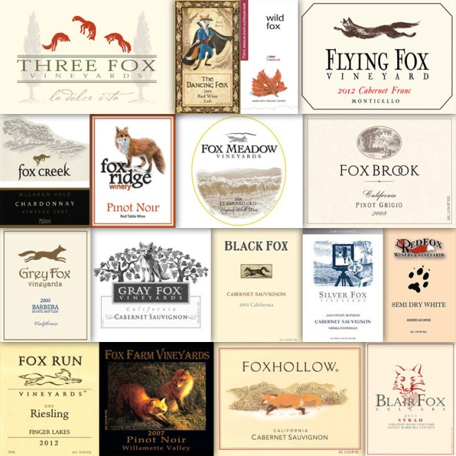 Wine With An Animal In The Name – Fox