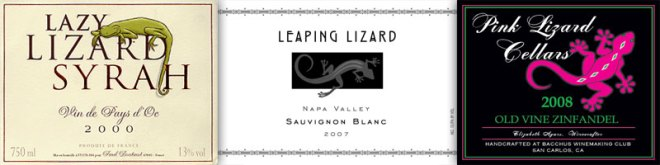Wine With An Animal In The Name – Lizard