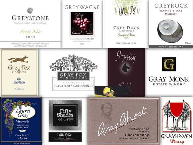 Wine With A Color In The Name – Grey