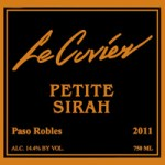 Le Cuvier Winery – Petite Syrah 2011