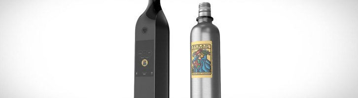 Stay Connected With Your Own Wifi Wine Bottle