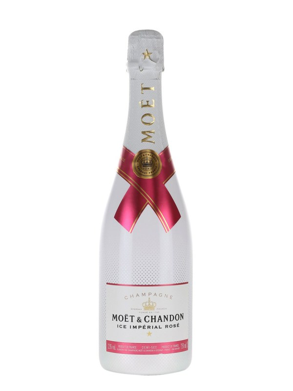 Champagne Moet Chandon Ice Rose