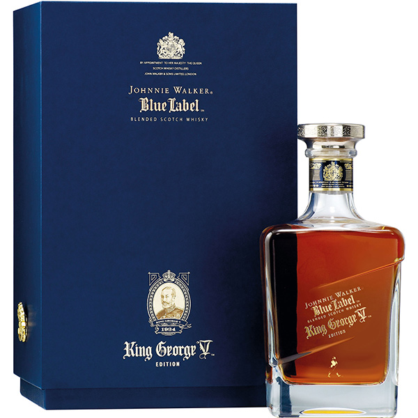 Whisky Johnnie Walker Blue King George V Edition