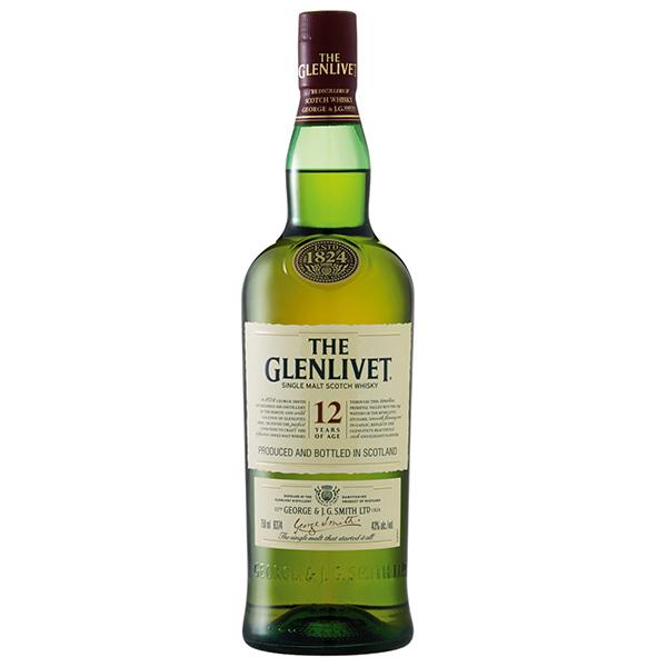 Whisky Glenlivet 12Y.O.