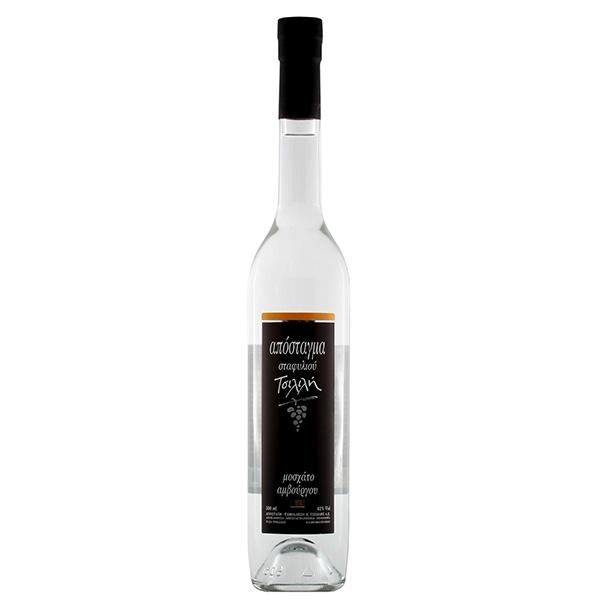 Grape distillate Muscat of Hambourg Tsililis