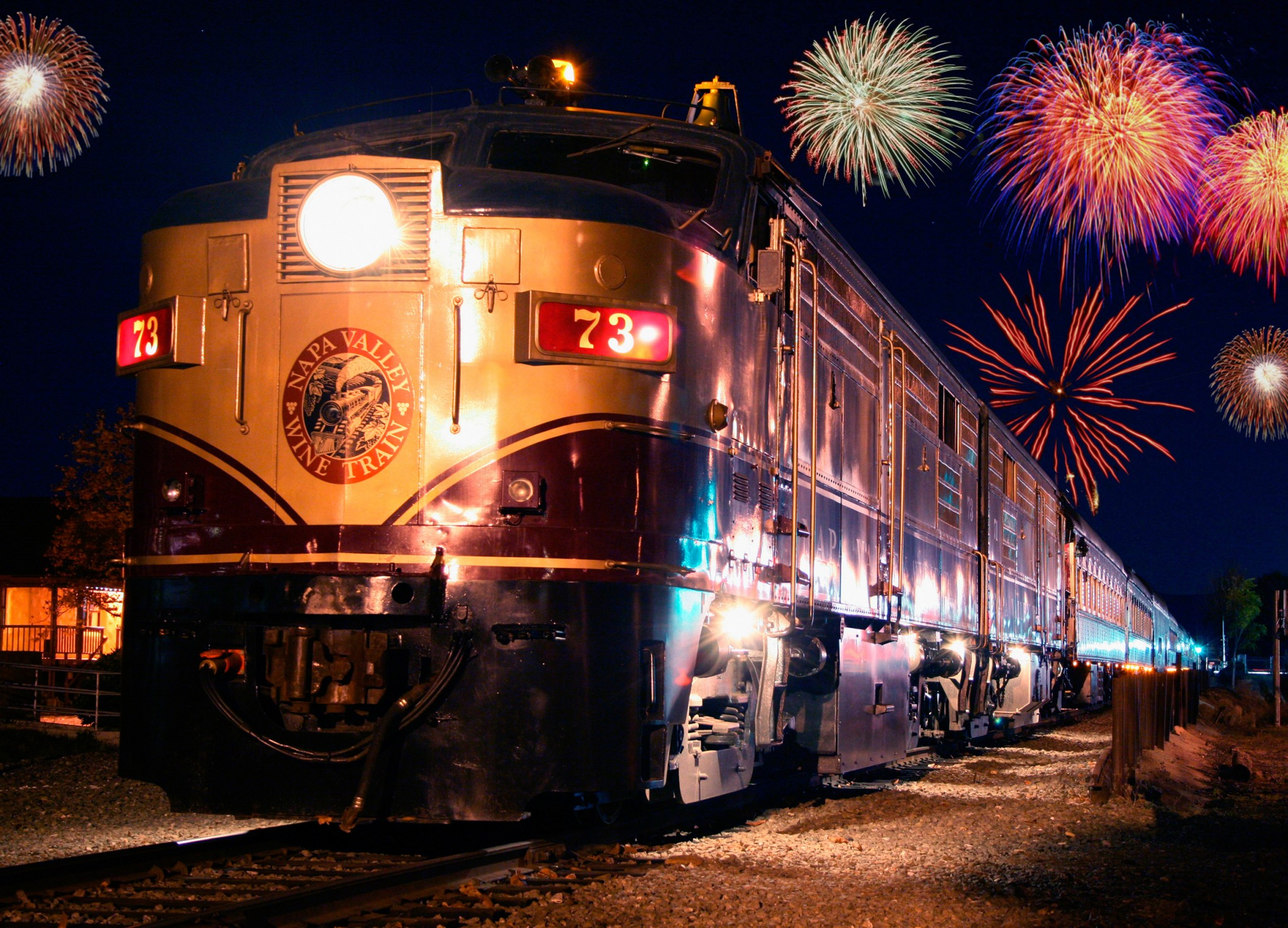New Years Eve on Napa Valley Wine Train