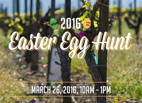 Easter Egg Hunt at Napa Valley wineries & Sonoma Wineries