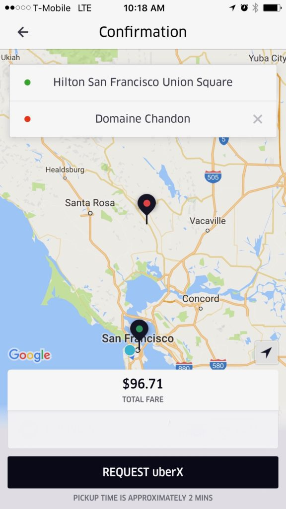 cost_to_uber_from_san_francisco_to-_napa_domaine_chandon_winery