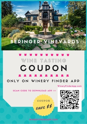Beringer Vineyards Winery NEW Wine Tasting Tour Discount Coupon Deal