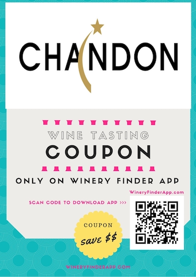Domaine Chandon NEW Wine Tasting Tour Discount Coupon Deal