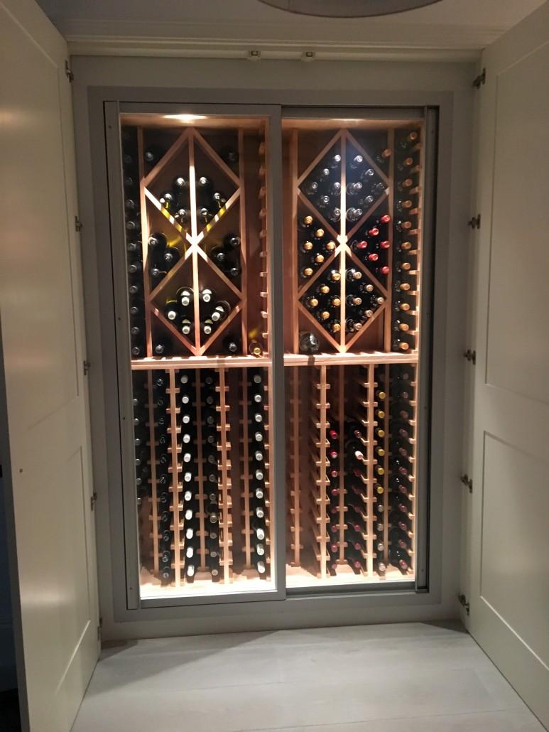 Bespoke Wine Walls  Wines Cellar