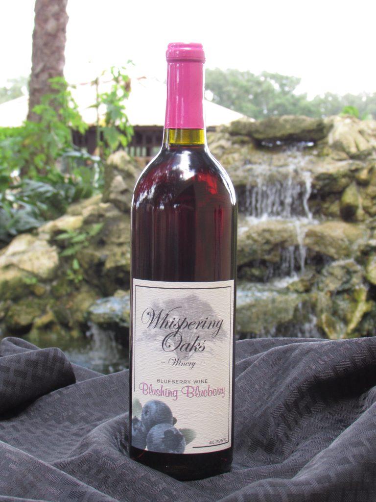 Blushing Blueberry Wine Product Image