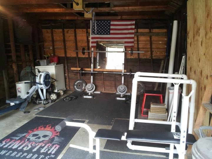 Garage gym of the week james watson